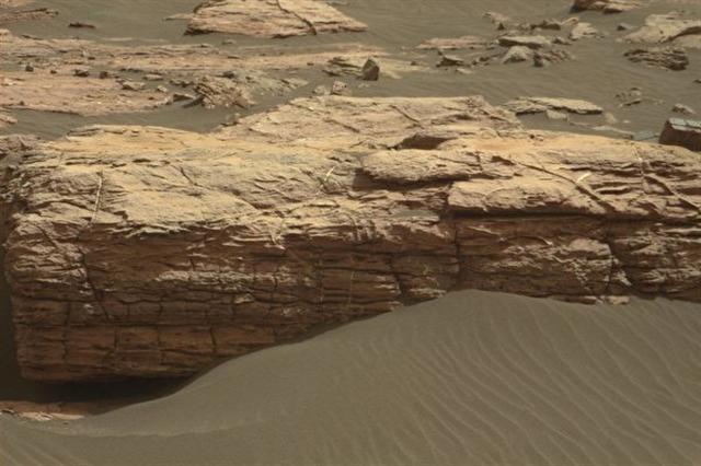 最新科學研究報告揭示,火星上有一個大型火山連續噴發了20億年。圖為火星。(NASA)