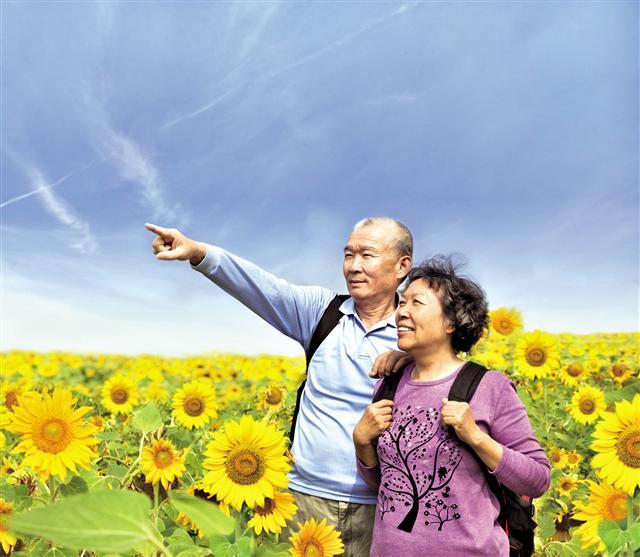 學習日本長壽祕訣,顯得年輕且長壽。(Fotolia)