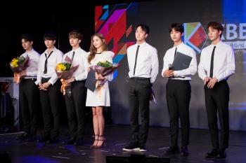 VIXX登台擔任大使 韓彩英同台演出