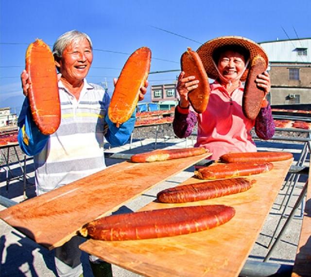 烏魚子是東港的特產。
