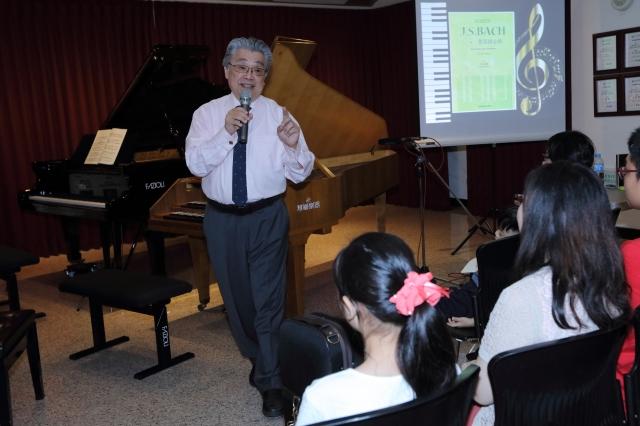 台灣有鋼琴教父之稱、曾名列牛津世界音樂名人錄的宋允鵬。