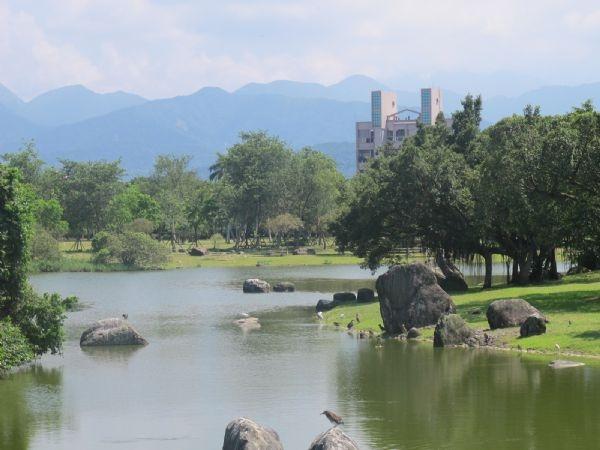 羅東運動公園。(吳雁門/攝影)