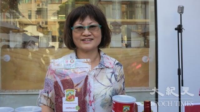 綠金王生技公司與原住民契作紅藜,並研發許多紅藜新產品如:能量飲、酵素、米麵條等。