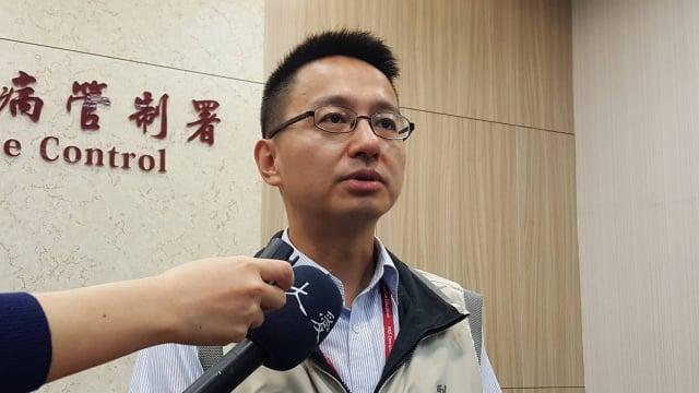 疾病管制署副署長羅一鈞(圖)7日公布今年首例境外移入霍亂病例。(中央社)