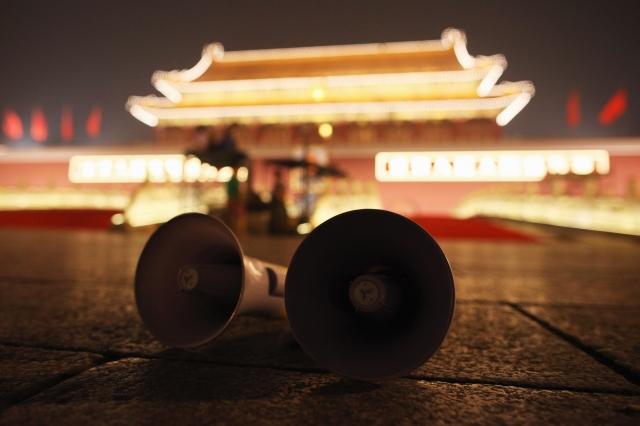 中共多年來花錢在西方大媒體上買版面,許多外媒成為中共宣傳管道之一。(Getty Images)