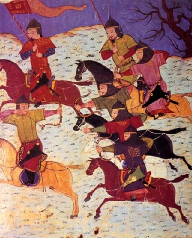 蒙古突騎。