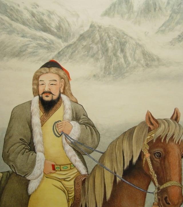 成吉思汗畫像。(大紀元資料室)
