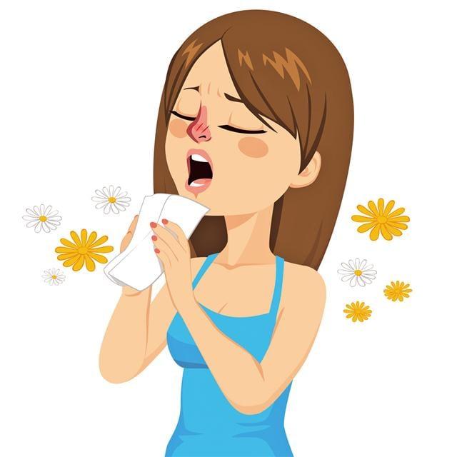 過敏還可能導致發癢、流眼淚,這些現象在感冒和流感可不常見。(Fotolia)