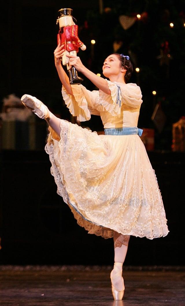 芭蕾舞劇《胡桃鉗》劇照。