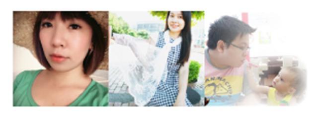 部落客,從左到右依序為:Livia、Sunny、啾啾老闆。(部落客提供)