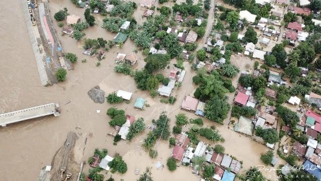 天秤颱風22日登陸菲律賓後,已釀成逾200人死亡、144人失蹤。(AFP)