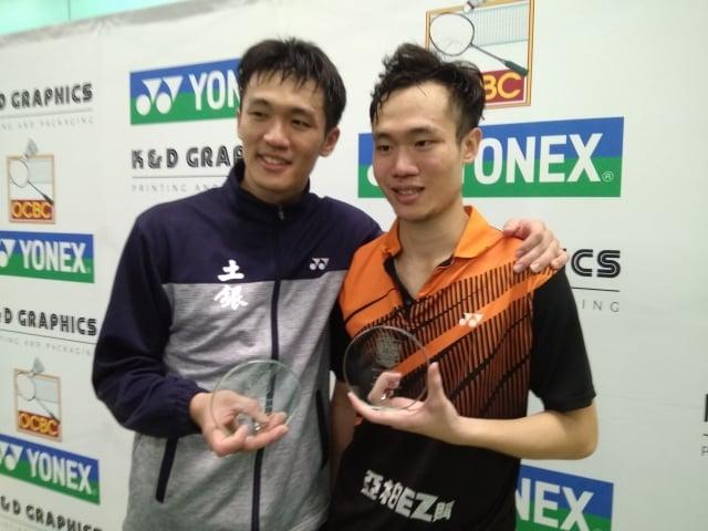 呂佳彬(左)、呂家弘(右)。(中央社)