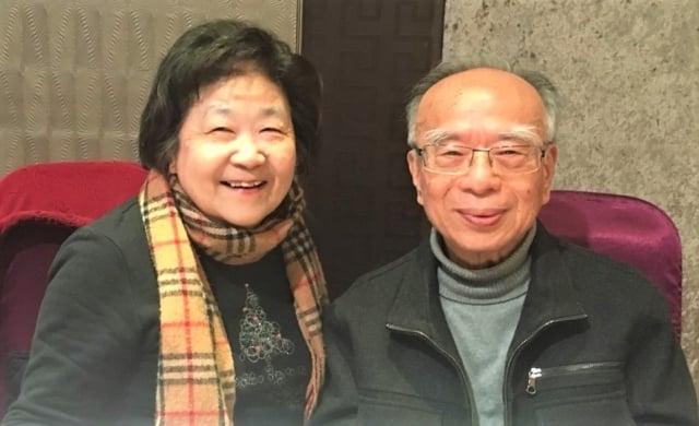 福懋開發賴敏雄董事長與夫人賴林容和女士。(攝影/記者張麗芳)