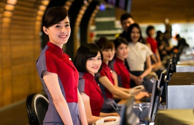 華航與法航共用班號,將可由台北直飛巴黎。(華航提供)