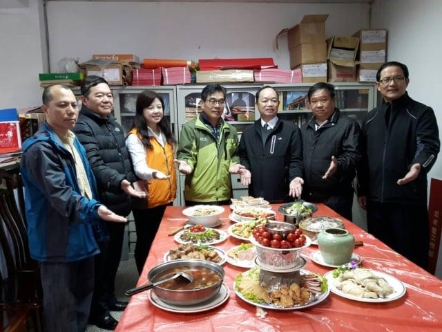 107年1月14日敬謝玉皇(謝三界)科儀,並舉辦百桌福宴,歡迎民眾認桌。