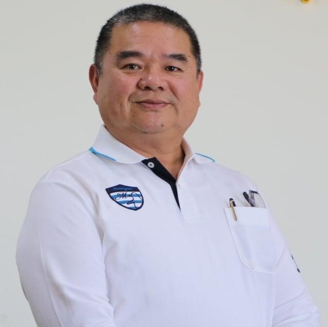 強靂企業集團林銘賢董事長。(攝影/劉沛琦)