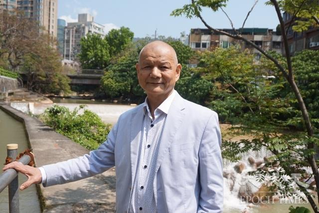 吉家網董事長李同榮搬來天母30年,熱愛大自然,「走不出去了」。
