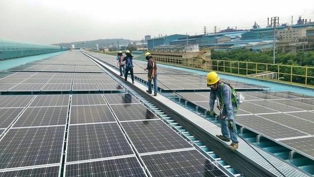 太陽能、農業、與生技三者結合的產業,開陽集團居領導地位。(開陽集團提供)
