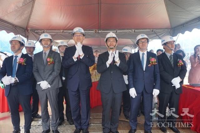 三井Outlet Park完成上梁典禮,讓海線備受期待。(記者謝平平/攝影)
