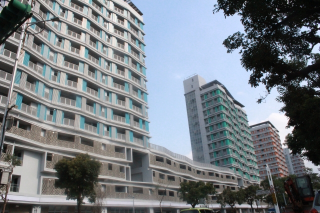 台北市Q1每坪來到82.9萬元,小跌0.5萬元,季跌幅0.48%。圖為示意圖。(中央社資料照)