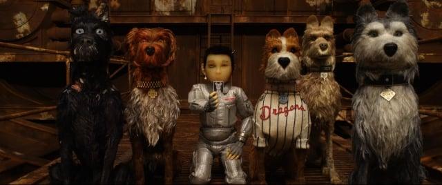 《犬之島》電影劇照。