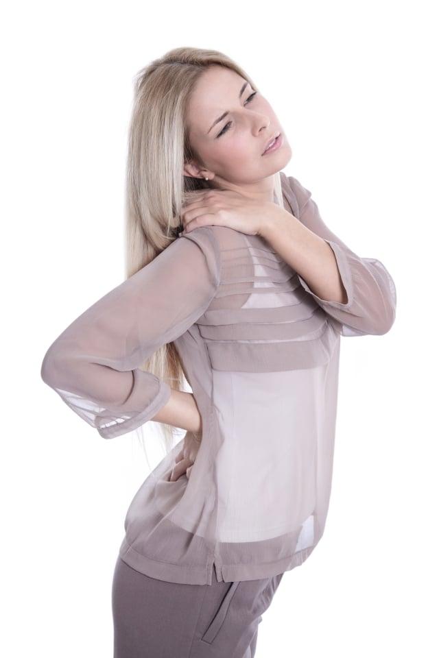 骨盆腔腫瘤較好發於女性,當有長期腰痠背痛、髖關節疼痛、坐骨神經痛等症狀,接受藥物或復健治療6~8周仍未改善,一定要進一步做影像檢查。(123RF)