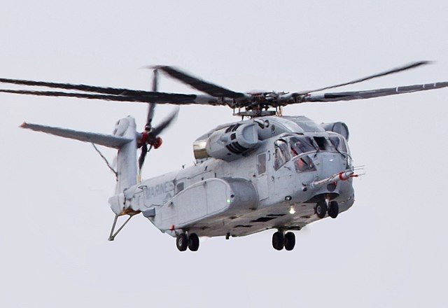美國有史以來最強大的直升機CH-53K「種馬王」(CH-53K King Stallion)在5月16日交付給海軍陸戰隊。(公有領域)