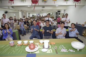 文化志工力推茶文化 找回茶道精神