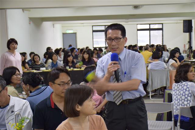 活動主持人:黃中鵬先生。 (蔡修道/攝影)