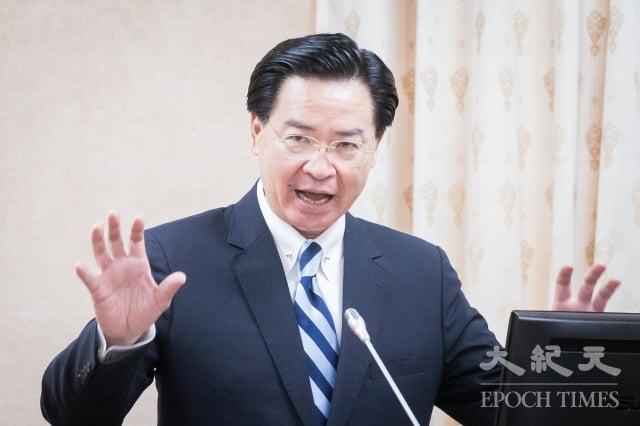外交部長吳釗燮23日表示,除教廷有特殊原因外,所有的友邦都用不同的方式支援台灣參與國際組織。(記者陳柏州/攝影)