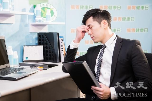 台灣乳酸菌協會24日公布「腸胃健康與慢性疲勞影響調查」,結果顯示43%的受訪者有腸胃不適及慢性疲勞所苦,成為「腸亂疲勞族」。 圖為示意圖。(記者陳柏州/攝影)