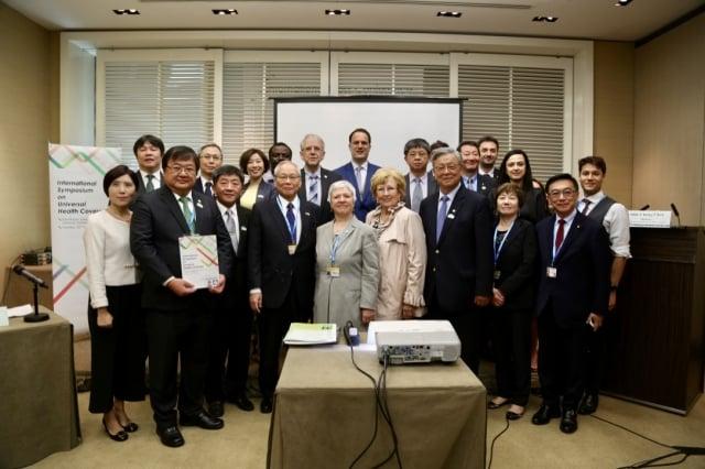 台灣醫師會與世界醫師會舉行「全民健康覆蓋(UHC)」研討會。