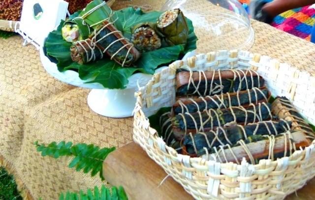 原住民的粽子-阿拜(a-bai)。