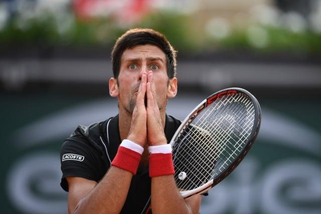 喬科維奇。(ERIC FEFERBERG/AFP/Getty Images)