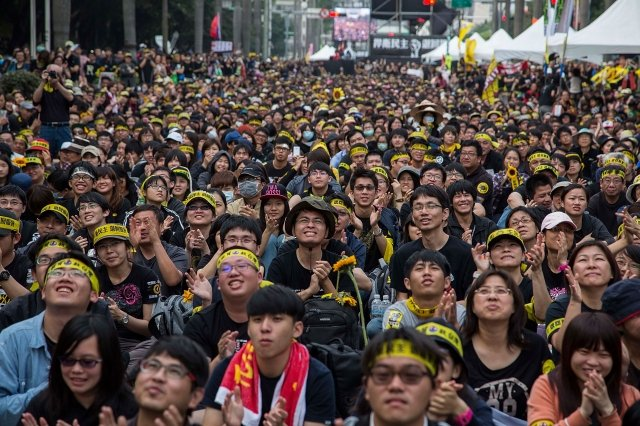 第十屆海峽論壇上週落幕,這次著重從未去過中國大陸的年輕人,作為首先邀請的對象。對此,有學者表示,這樣的訴求充分體現近期北京對台政策,但也顯示北京始終太低估台灣公民社會的力量。(Lam Yik Fei/Getty Images)