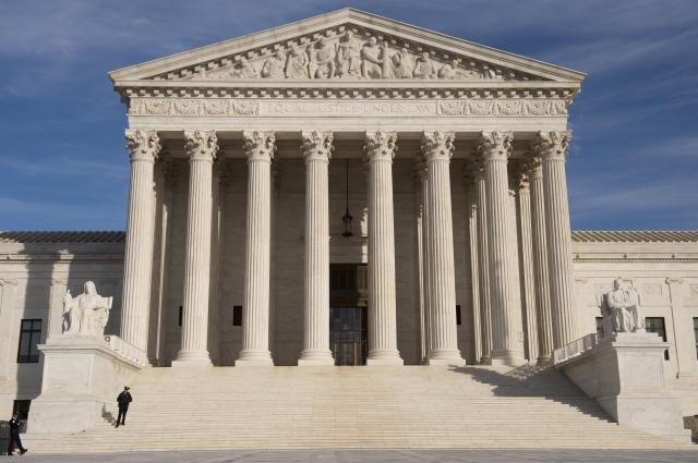 美國最高法院週四廢除了一項實施20多年的法律,該法律限制州政府對外州網路電商徵收銷售稅。(Getty Images)