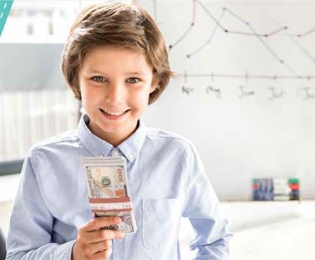 教育孩子的方式,不要死記硬背經濟法則,正確灌輸和引導他們作出良好財政決斷而轉變。(Fotolia)