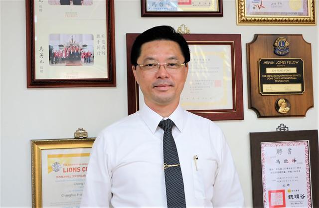 敞盛國際實業總經理馮啟峰。(吳雁門/攝影)