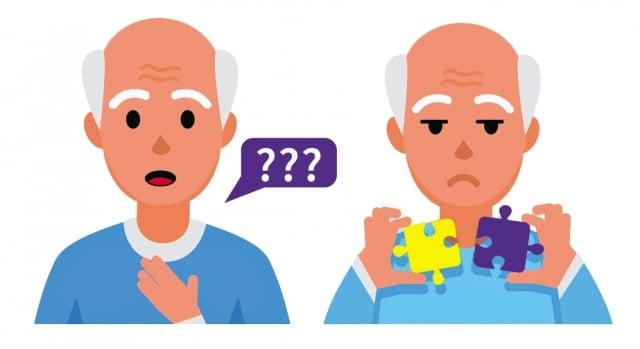 若是發現自己生活周遭的親朋好友出現講話不如以前流暢、想不起來某些常用物品名稱、對器物使用能力下降、專注力判斷力變差、對之前從事的活動失去興趣等失智症前兆。(Fotolia)
