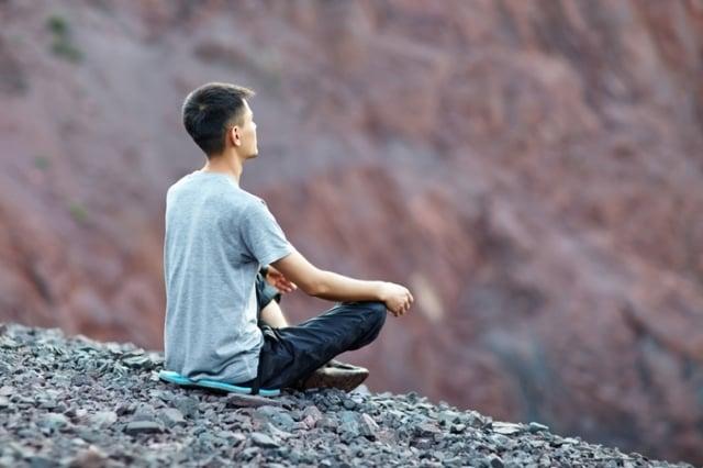 心裡的不輕鬆,源自於你的「執著」。(Shutterstock)