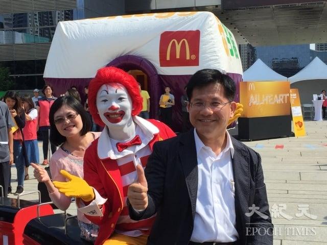 台中市勞工局首度與麥當勞合作,進行專案徵才,麥當勞此波徵才人數預計2,200人。