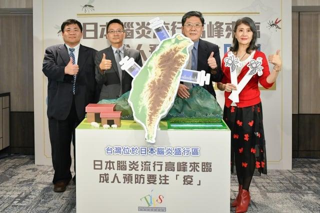 台灣疫苗推動協會呼籲台灣就位於日本腦炎盛行區中,成人要注意預防日本腦炎。(台灣疫苗推動協會提供)