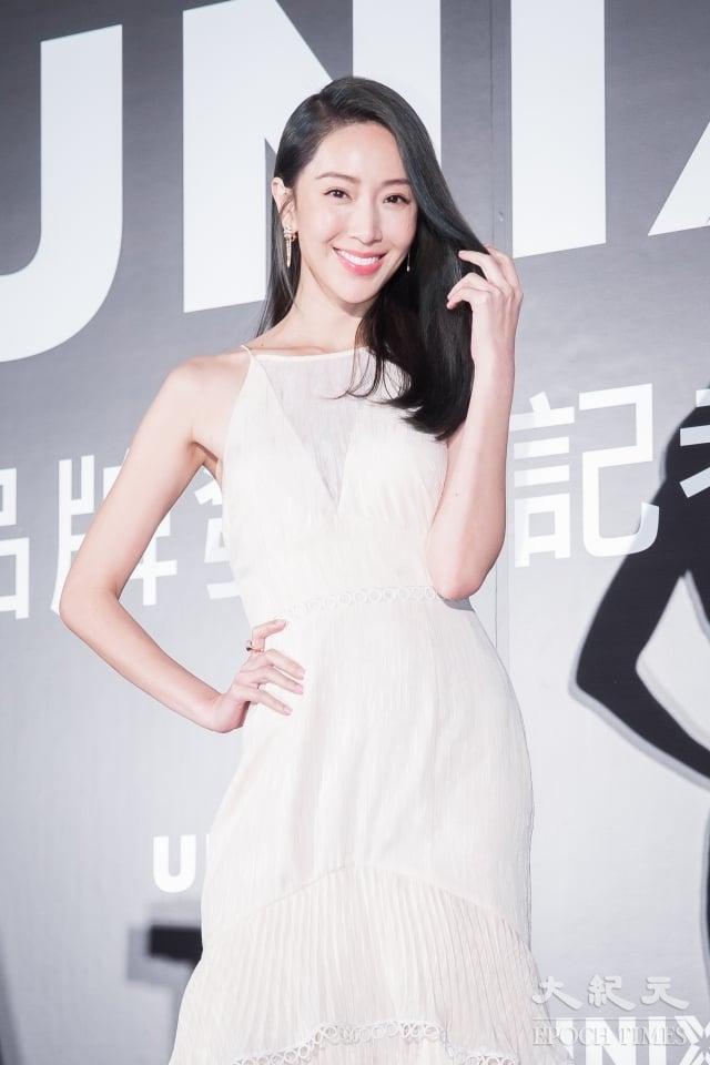 藝人隋棠12日出席韓國髮品發表會。