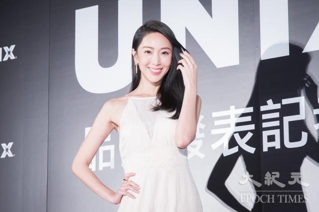 藝人隋棠12日出席韓國髮品發表會。(記者陳柏州/攝影)