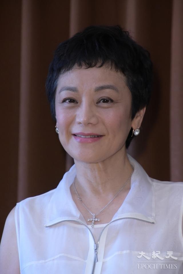 張艾嘉栽培「果實基金會30年有成《你,好嗎?》」藝術教育系列活動宣告記者會,於2018年7月13日在台北舉行。(記者黃宗茂/攝影)