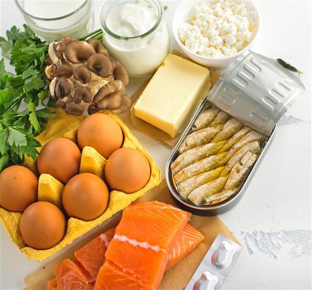 我們以為進食多種食物,就取得所有的必需維生素,達到營養均衡。(Fotolia)