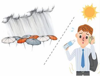 【王健專覽】水害與酷暑