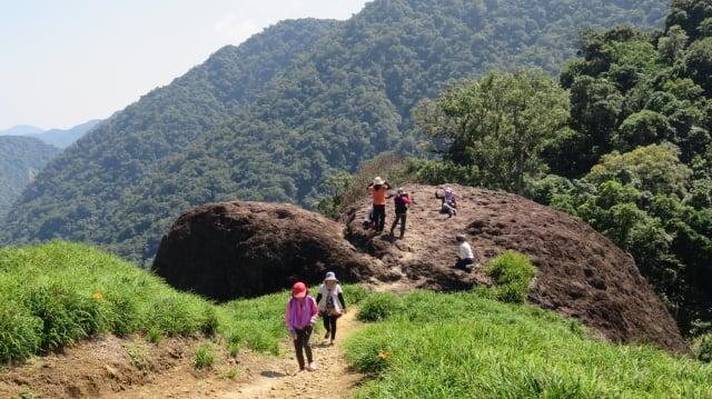 「赤科三景」之一千噸石龜,不可錯過。