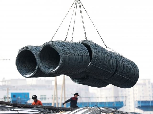 據消息人士週二(7月31日)表示,川普政府計畫對2千億美元(約新台幣6.1兆元)中國進口商品徵收25%的關稅,高於最初設定的10%關稅值。圖為示意圖。(AFP)