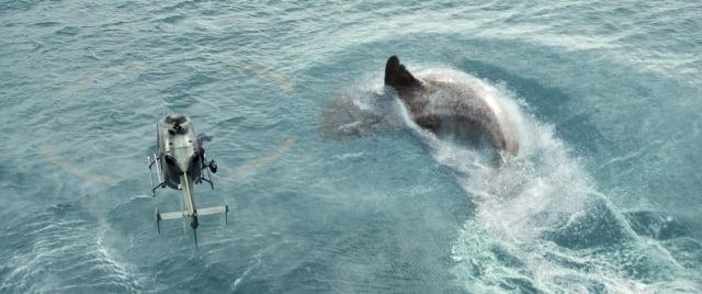 《巨齒鯊》電影劇照。